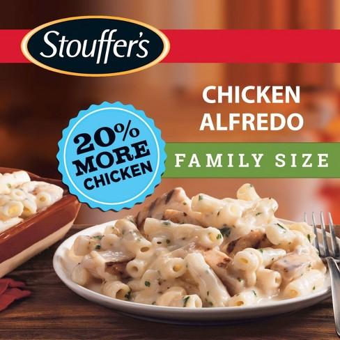 Stouffers Frozen Chicken Alfredo Family Size - 31oz - image 1 of 4