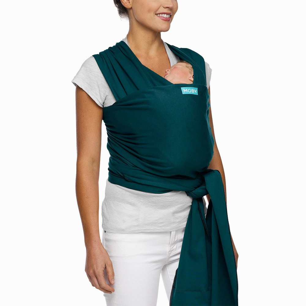 Image of Moby Classic Wrap Baby Carrier - Pacific