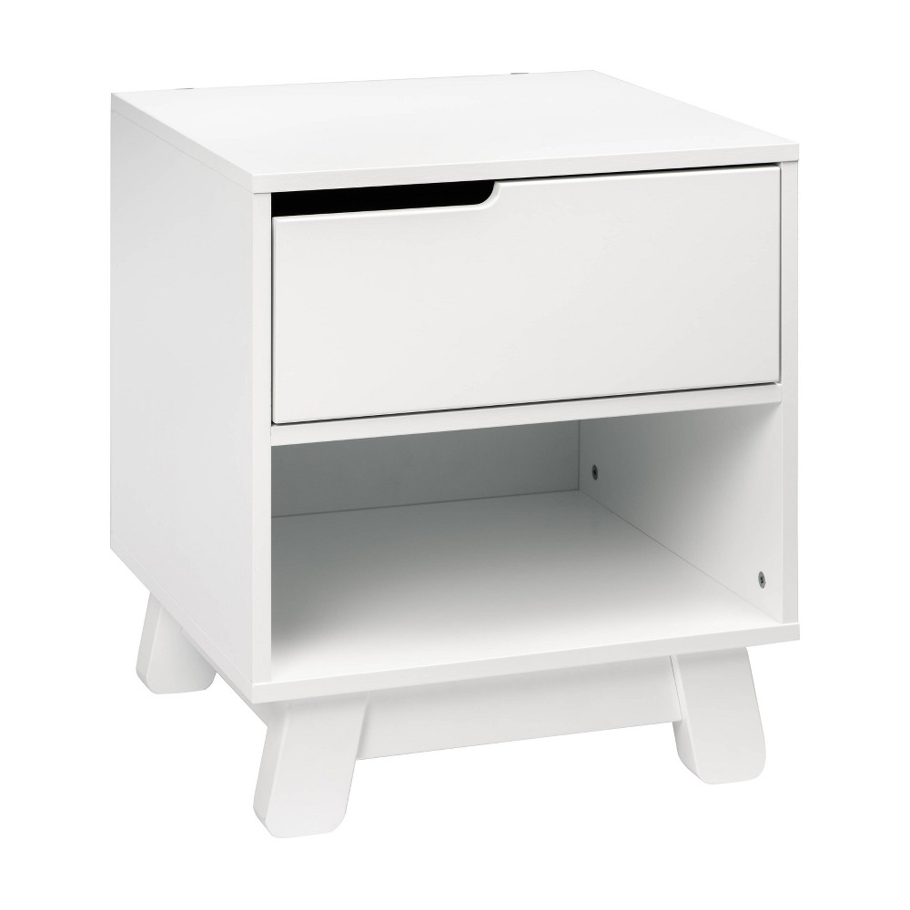 Image of Babyletto Hudson Nightstand With Usb Port - White