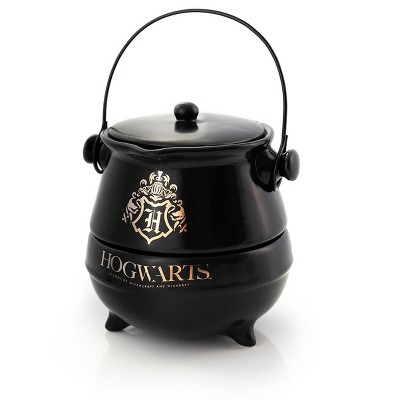 Seven20 Harry Potter Tea-For-One Cauldron Teapot And Cup Set | Featuring Hogwarts Crest