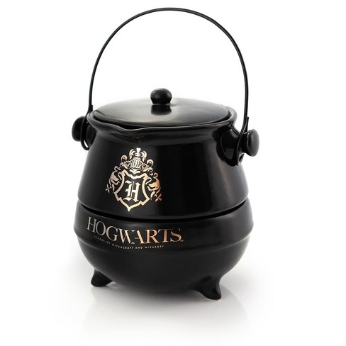 Seven20 Harry Potter Tea-For-One Cauldron Teapot And Cup Set | Featuring Hogwarts Crest - image 1 of 4