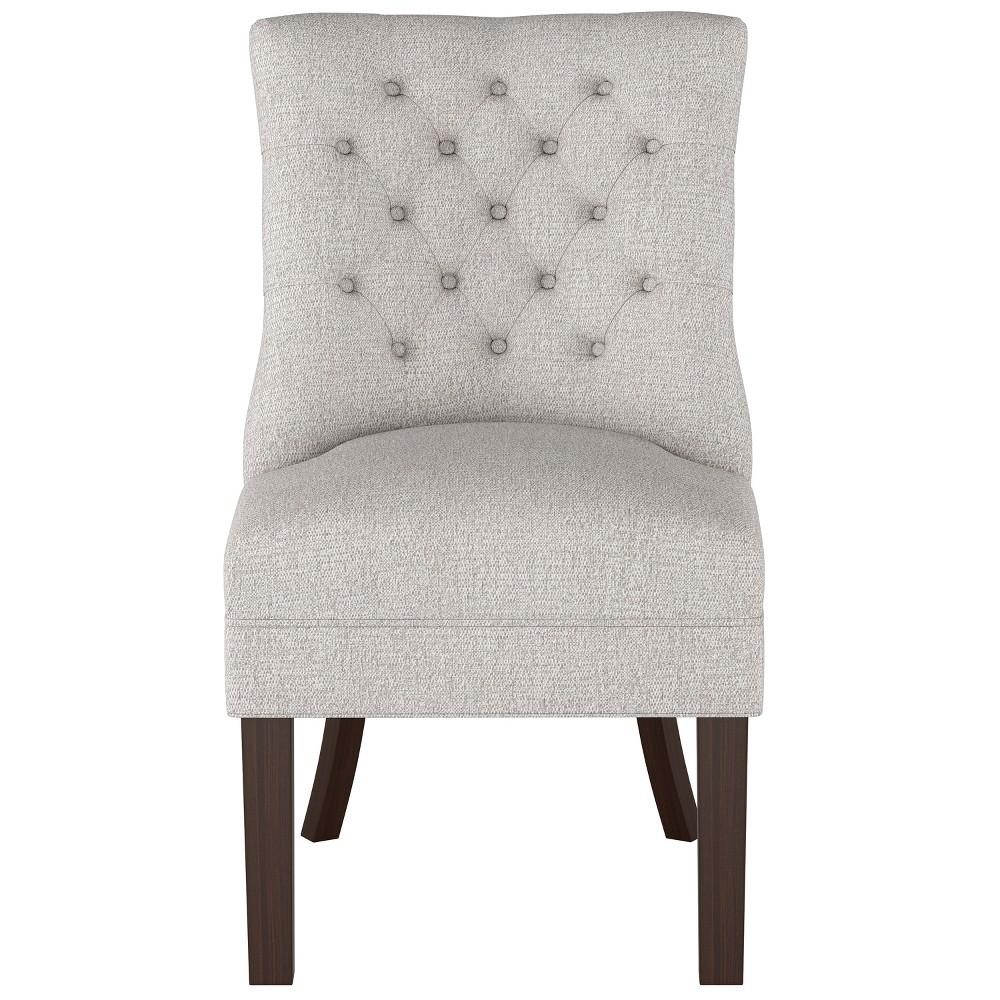 Winslow Tufted Chair Light Gray Threshold