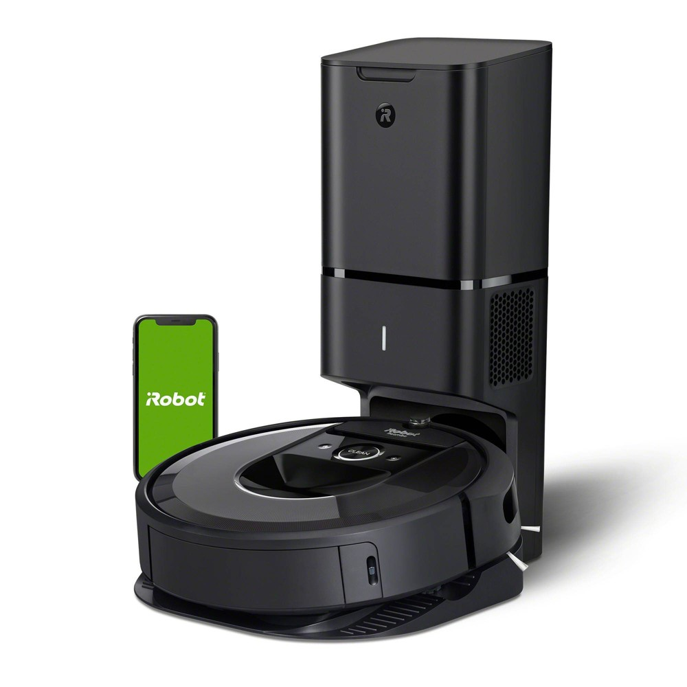 Irobot Roomba I7 7550 Wi Fi Connected Robot Vacuum With Automatic Dirt Disposal