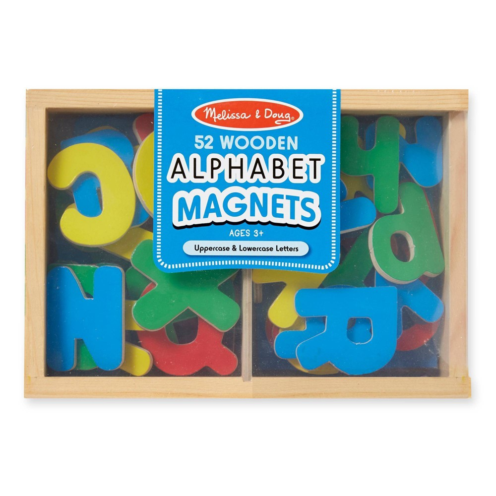 Melissa 38 Doug Magnetic Wooden Alphabet