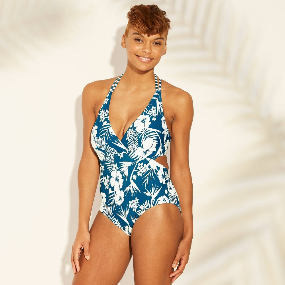a9981b9b82 Womens Strappy Back Cut Out Monokini One Piece Swimsuit Sunn Lab ...