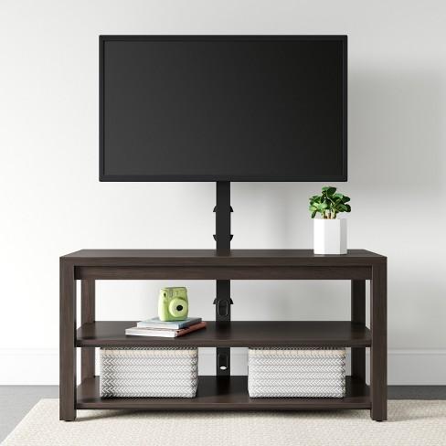 Flat Panel Tv Stand Espresso Brown Room Essentials Target