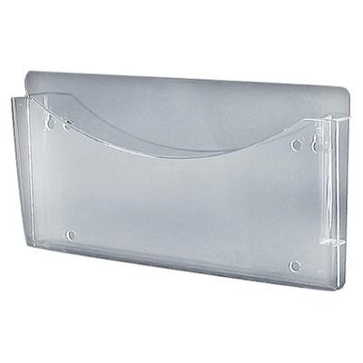 Azar Clear Single Pocket Wall File 4ct