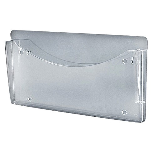 Azar Clear Single Pocket Wall File 4ct - image 1 of 1