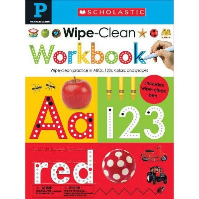 Wipe Clean Workbooks Kindergarten Scholastic Early Learners