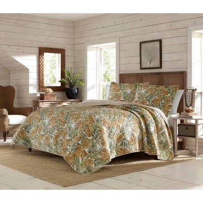 Newland Forest Quilt & Sham Set Yellow  - Tommy Bahama