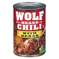 Wolf Brand Chili with Beans 15 oz