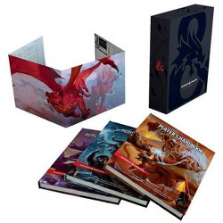 Dungeons & Dragons Core Rulebooks Gift Set (Special Foil Covers Edition with Slipcase, Player's