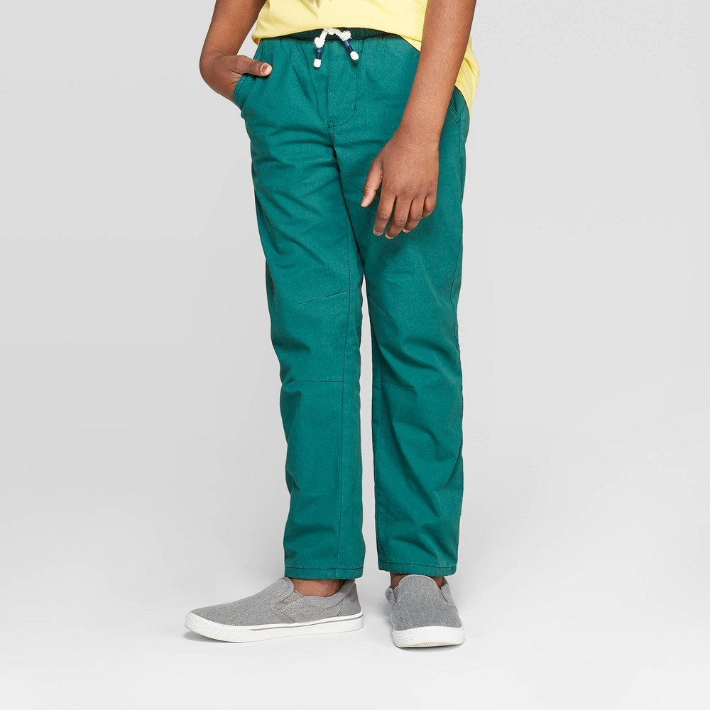 overBoys' Lined Pull-On Straight Pants - Cat & Jack Green 10 Husky was $16.99 now $11.04 (35.0% off)