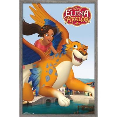 Trends International Disney Elena of Avalor - Flight Framed Wall Poster Prints