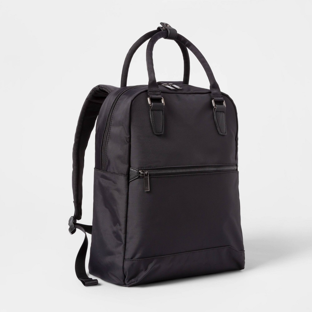 Image of Commuter Backpack Black - Open Story
