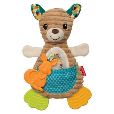 Infantino® Go GaGa Kangaroo Cuddly Teether