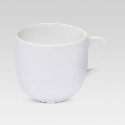 Cozy 16.5oz Porcelain Coffee Mug White - Threshold™