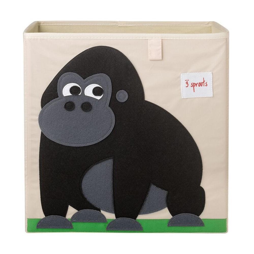 Image of Gorilla Fabric Kids Toy Storage Bin - 3 Sprouts