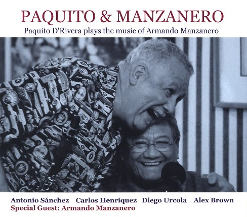 Paquito d'rivera - Paquito d'rivera plays the music of a (CD) - image 1 of 1