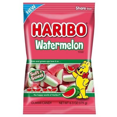 Haribo Gummy Watermelons - 6.3oz