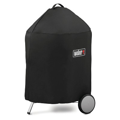 Weber® 22 Charcoal Premium Grill Cover- Black