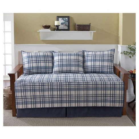 Avalon Daybed Quilt Set (39x75) Blue -VCNY® - image 1 of 1
