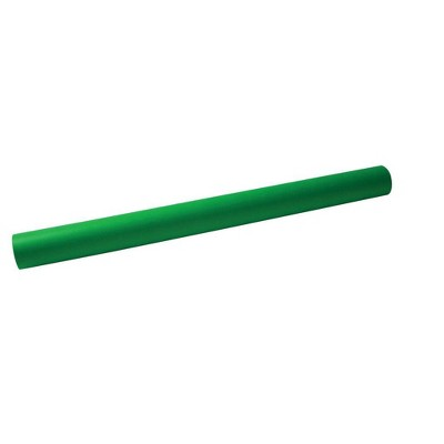 School Smart Fade Resistant Art Roll, 36 Inches x 30 Feet, Bright Green