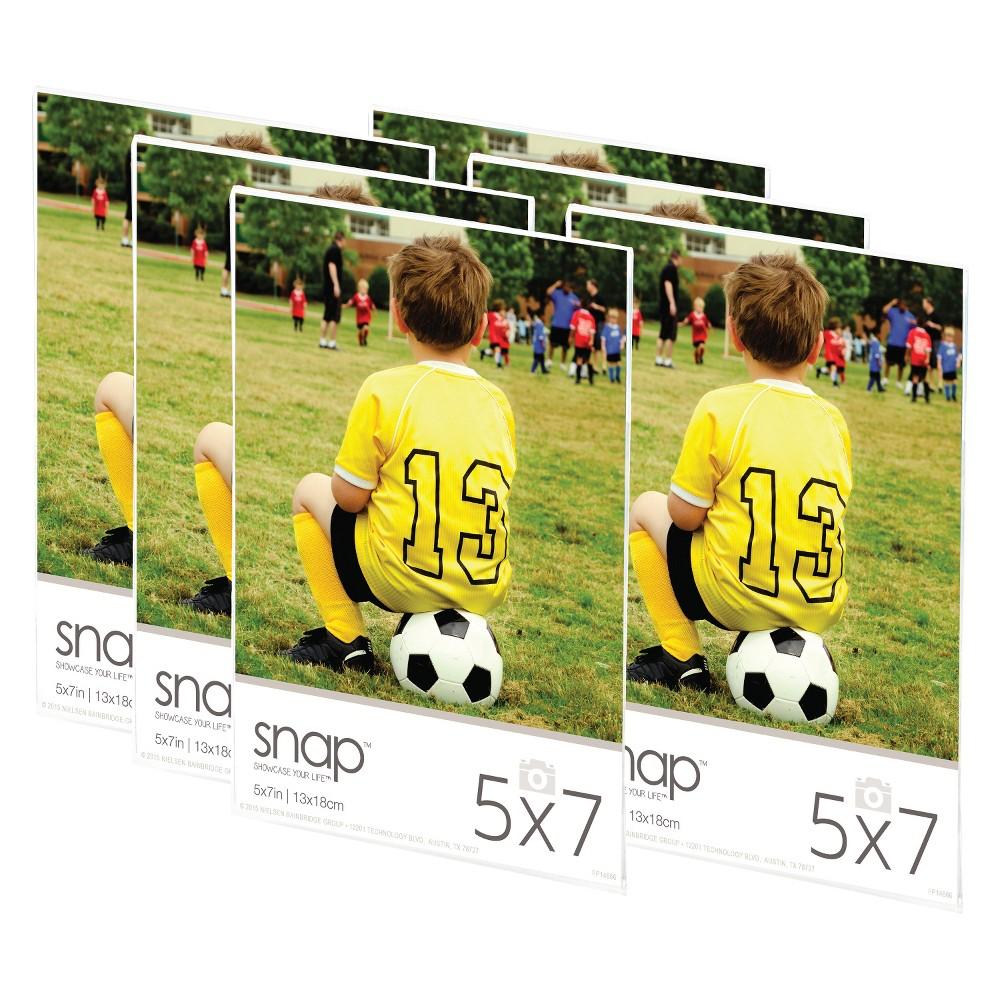 """Image of """"Acrylic Magnetic Frame set (5""""""""X7"""""""") Set of 6"""""""