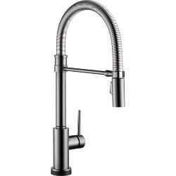 Delta Faucet 9659T-DST Trinsic Pro Pre-Rinse Pull-Down Kitchen Faucet