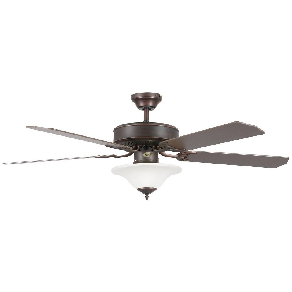 "Image of ""52"""" Heritage Square Ceiling Fan Bronze - Concord Fans"""