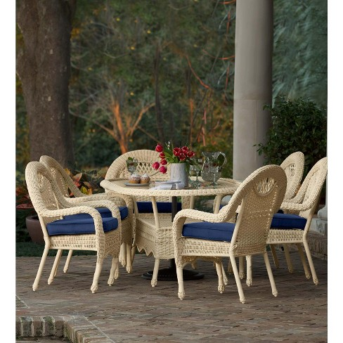 Prime Prospect Hill Oval Dining Table And 6 Chairs Set Plow Hearth Machost Co Dining Chair Design Ideas Machostcouk
