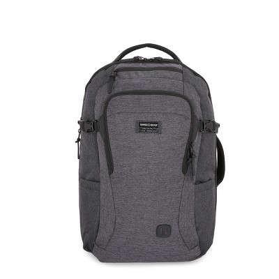 SwissGear Getaway RFID Backpack Heather Gray