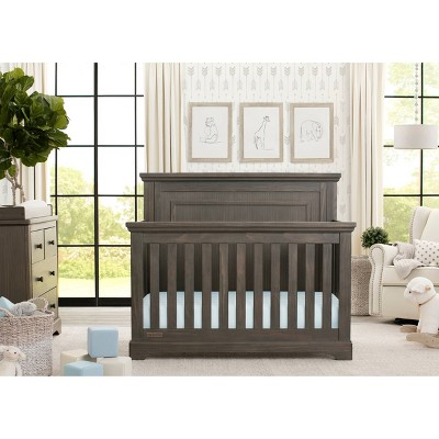 Simmons Kids SlumberTime Paloma 4-in-1 Convertible Crib - Rustic Gray