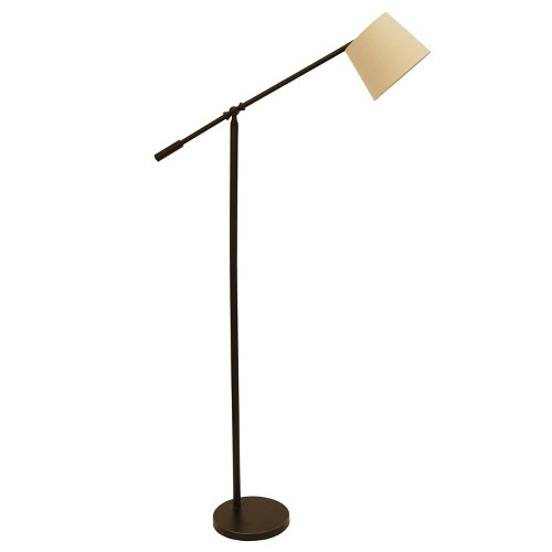 Chloe Adjustable Arm Floor Lamp Bronze (Lamp Only) - Decor Therapy