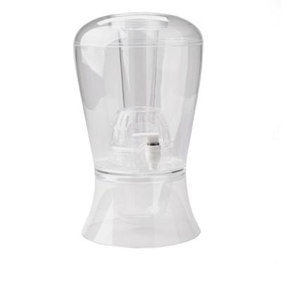 Mind Reader 1 Gallon Fruit Infuser Beverage Drink Dispenser with Spigotand Ice Bucket Bottom