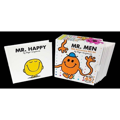 Mr. Men Box Set - (Mr. Men and Little Miss) 40th Edition by  Roger Hargreaves (Mixed Media Product)