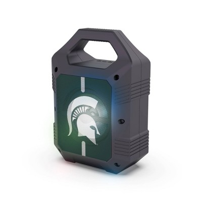 NCAA Michigan State Spartans Bluetooth Speaker with LED Lights
