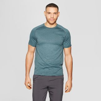 Men's Training T-Shirt - C9 Champion® Foggy Ocean Teal Heather L