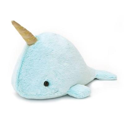 """Enesco Nori Narwhal 12"""" Stuffed Animal Plush"""