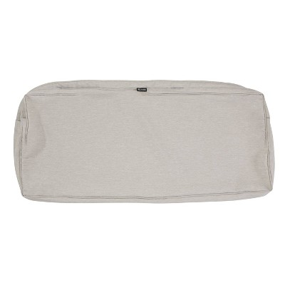 Montlake Water-Resistant Patio Bench/Settee Cushion Slip Cover - Classic Accessories