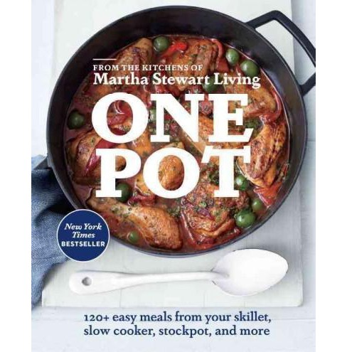 One Pot (Paperback) by Martha Stewart Living - image 1 of 1