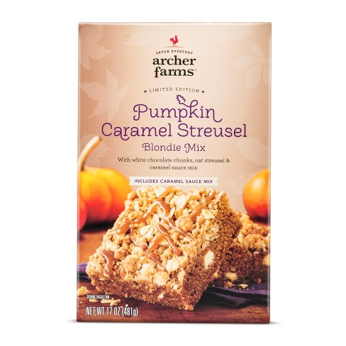 Pumpkin Streusel Caramel Blondie - 17oz - Archer Farms™ - image 1 of 1