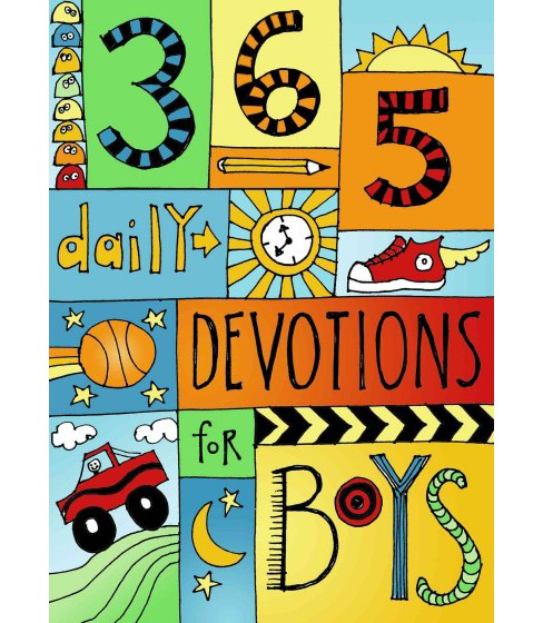 365 Devotions for Boys (Paperback) - image 1 of 1