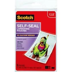 5Ct Scotch Self Seal 4X6 Photo Sz