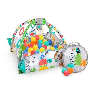 Bright Starts 5-In-1 Your Way Ball Play Activity Gym & Ball Pit - Totally Tropical
