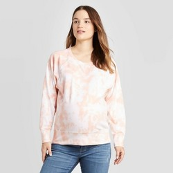 Maternity Tie-Dye Pullover - Isabel Maternity by Ingrid & Isabel™ White