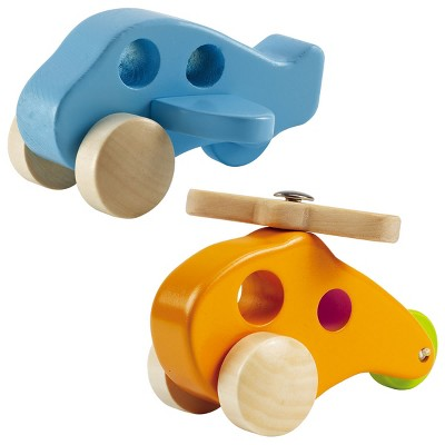 HAPE Little Copter and Airplane Set