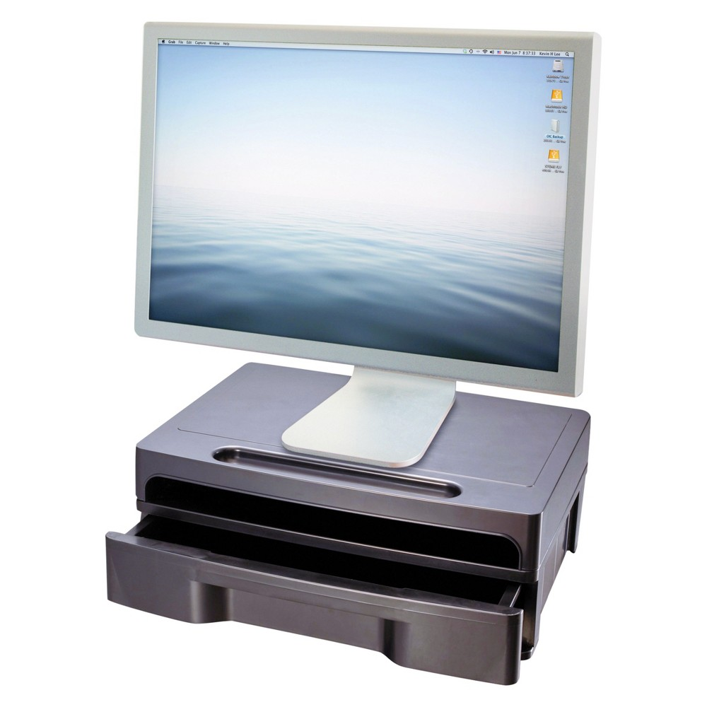 Image of Monitor Stand Officemate, Black