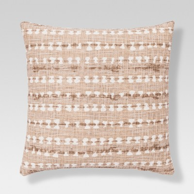 Shibori Throw Pillow - Tan - Threshold™