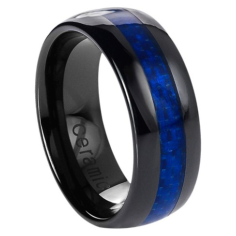 Men's Daxx Ceramic Band with Carbon Fiber Inlay - image 1 of 4